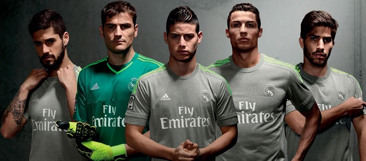camisetas madrid 2015 20161