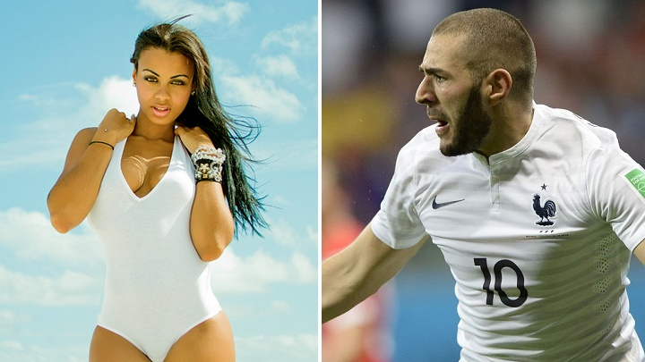 Analicia Chaves y Benzema