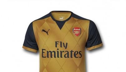 Arsenal segunda equipacion 2015-2016 4