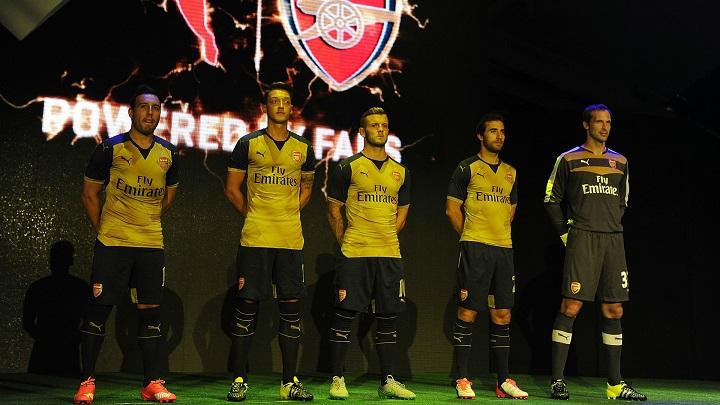 Arsenal segunda equipacion 2015-2016