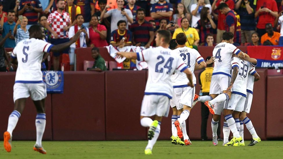 Barcelona Chelsea International Champions Cup 3