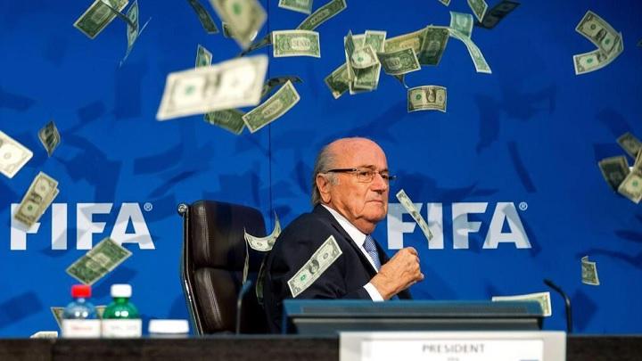 Blatter billetes