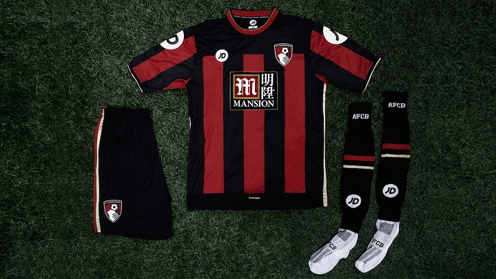 Bournemouth camiseta 2015-2016 3