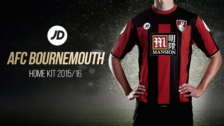 Bournemouth camiseta 2015-2016