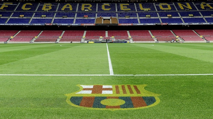 Camp Nou cesped