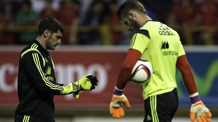 Casillas y De Gea