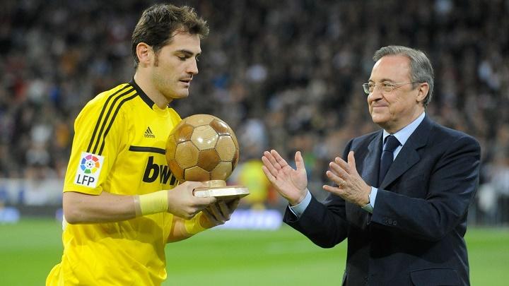 Casillas y Florentino