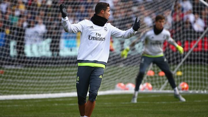 Cristiano Ronaldo pretemporada
