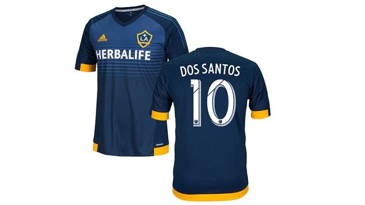 Giovani Dos Santos camiseta Galaxy