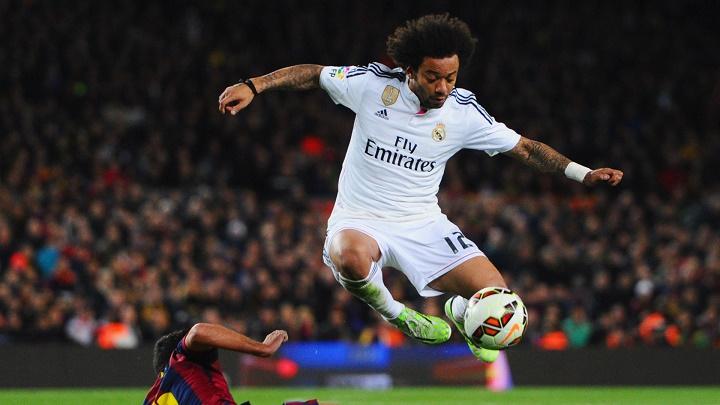 Marcelo en un partido