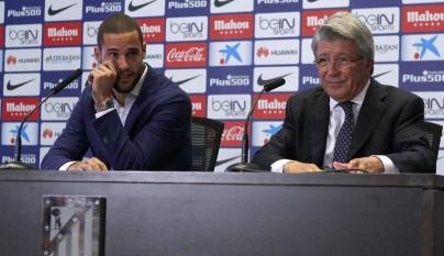 Mario Suarez Atletico despedida 11