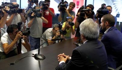 Mario Suarez Atletico despedida 3