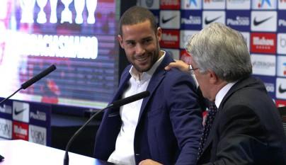 Mario Suarez Atletico despedida 4