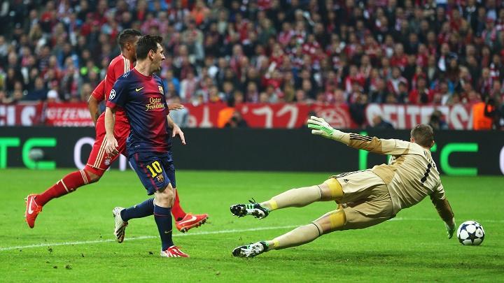 Messi Bayern