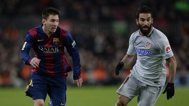Messi y Arda Turan