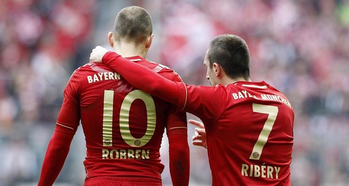Robben y Ribery