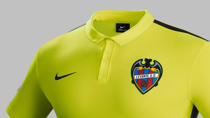 camiseta Levante segunda equipacion 2015-2016