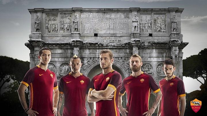 camiseta Roma 2015-2016