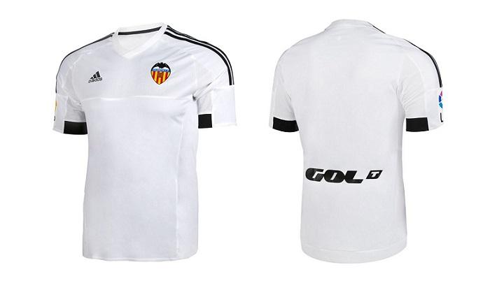 camiseta Valencia 2015-2016