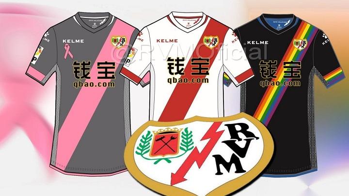 camisetas Rayo Vallecano