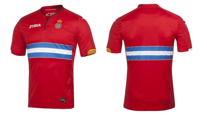 segunda camiseta Espanyol 2015-2016 2