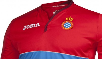 segunda camiseta Espanyol 2015-2016