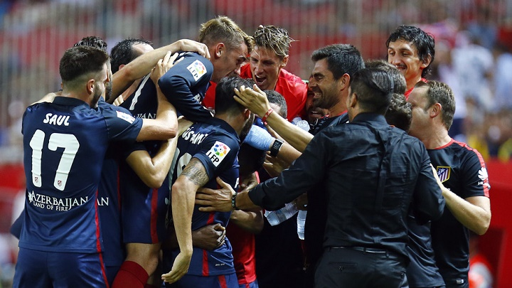 Atletico de Madrid Sevilla 2