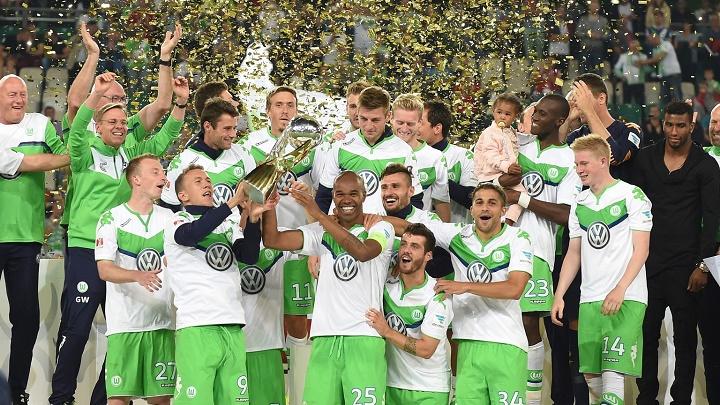 Wolfsburgo Supercopa Alemania