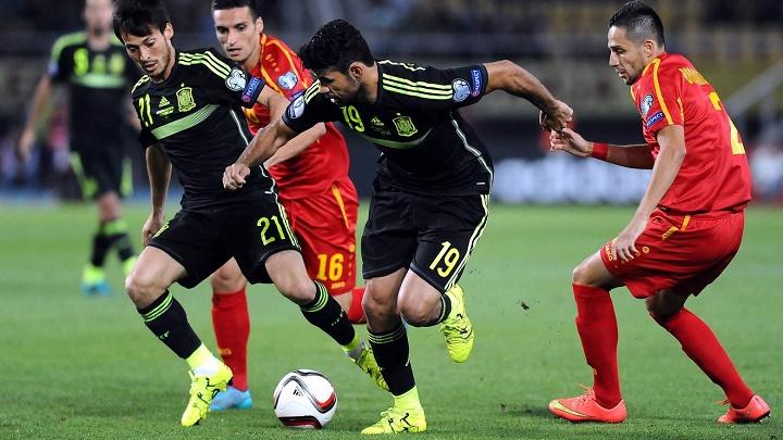 David Silva y Diego Costa
