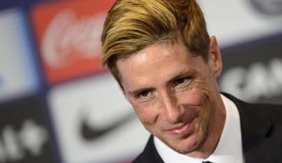 Fernando Torres sonriendo