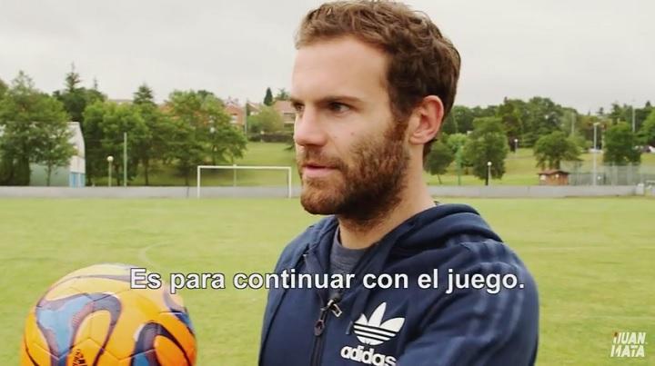 Juan Mata YouTube