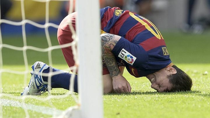 Leo Messi lesionado