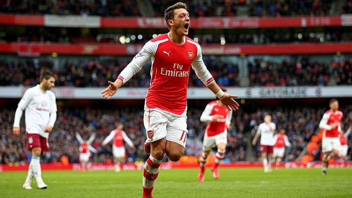 Mesut Ozil Arsenal gol