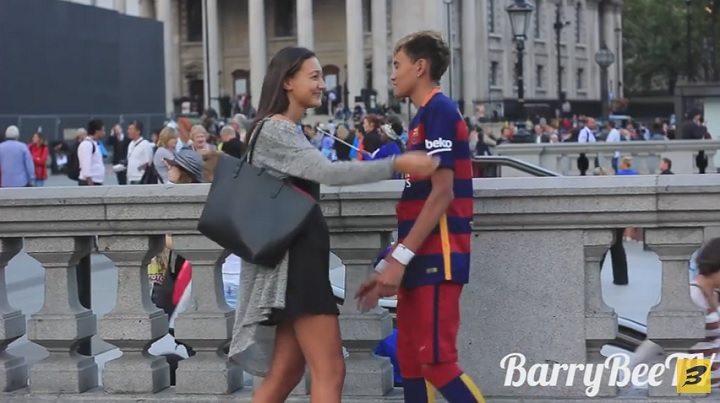 Neymar besos