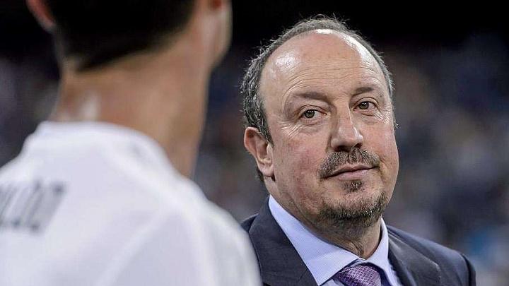 Rafa Benitez y Cristiano