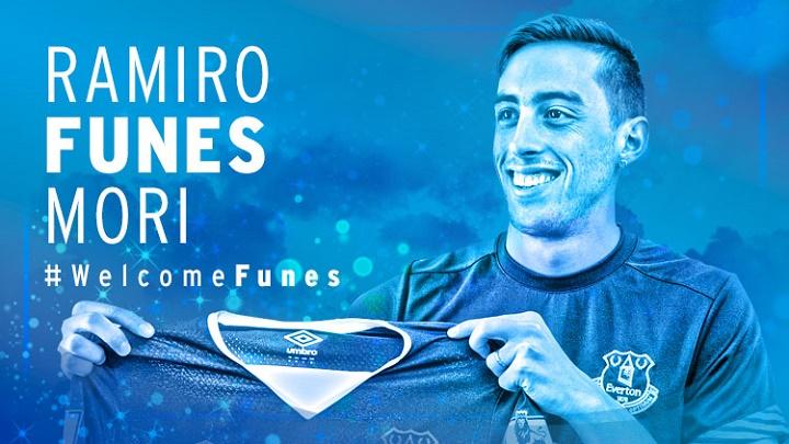Ramiro Funes Mori Everton 2