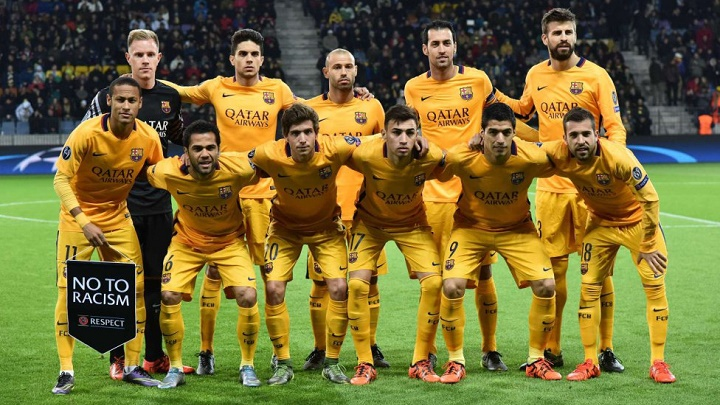 Barcelona BATE 2