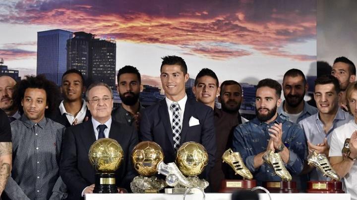 Cristiano Ronaldo homenaje