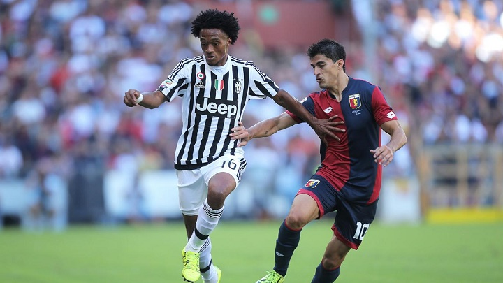 Juan Cuadrado Juventus partido