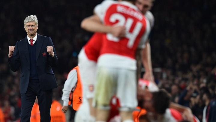 Wenger feliz