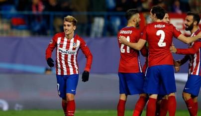 Atlético de Madrid celebración
