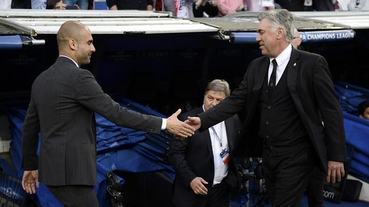 Guardiola y Ancelotti