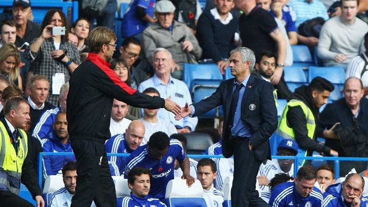 Klopp y Mourinho