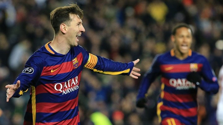 Leo Messi Champions