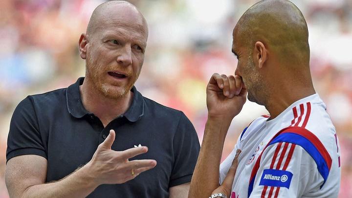 Matthias Sammer y Pep Guardiola