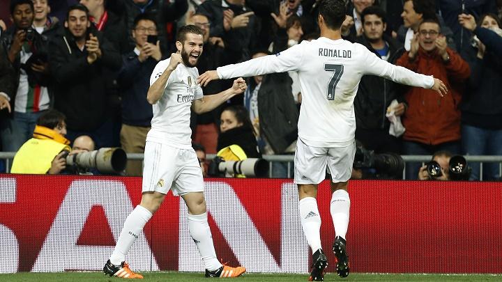 Nacho y Cristiano Ronaldo