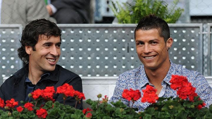 Raul y Cristiano Ronaldo