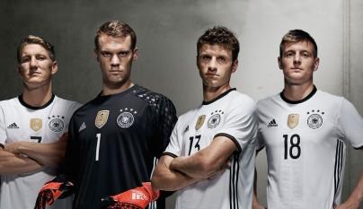 camiseta Alemania Eurocopa 2016 3