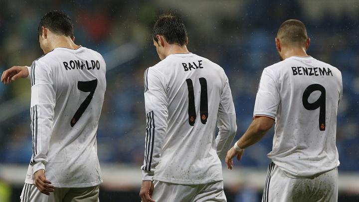 ronaldo Bale Benzema