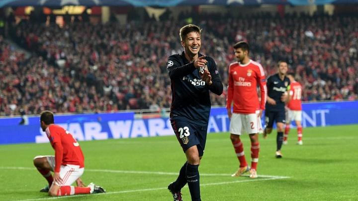 Luciano Vietto celebrando un gol